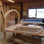 Fabrication bois ouvertures pour rénovation