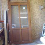 Porte bois sur mesure