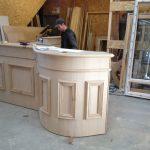 Fabrication bois bar