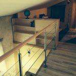 Aménagement intérieur bois particulier