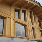 Fabrication et pose de menuiseries extérieures bois