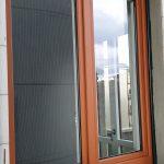 Pliant coulissant bois aluminium / extérieur