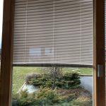 Fenêtre avec store remonté électrique intégré
